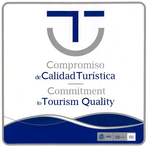 Logotipo Sicted Compromiso de Calidad Turística