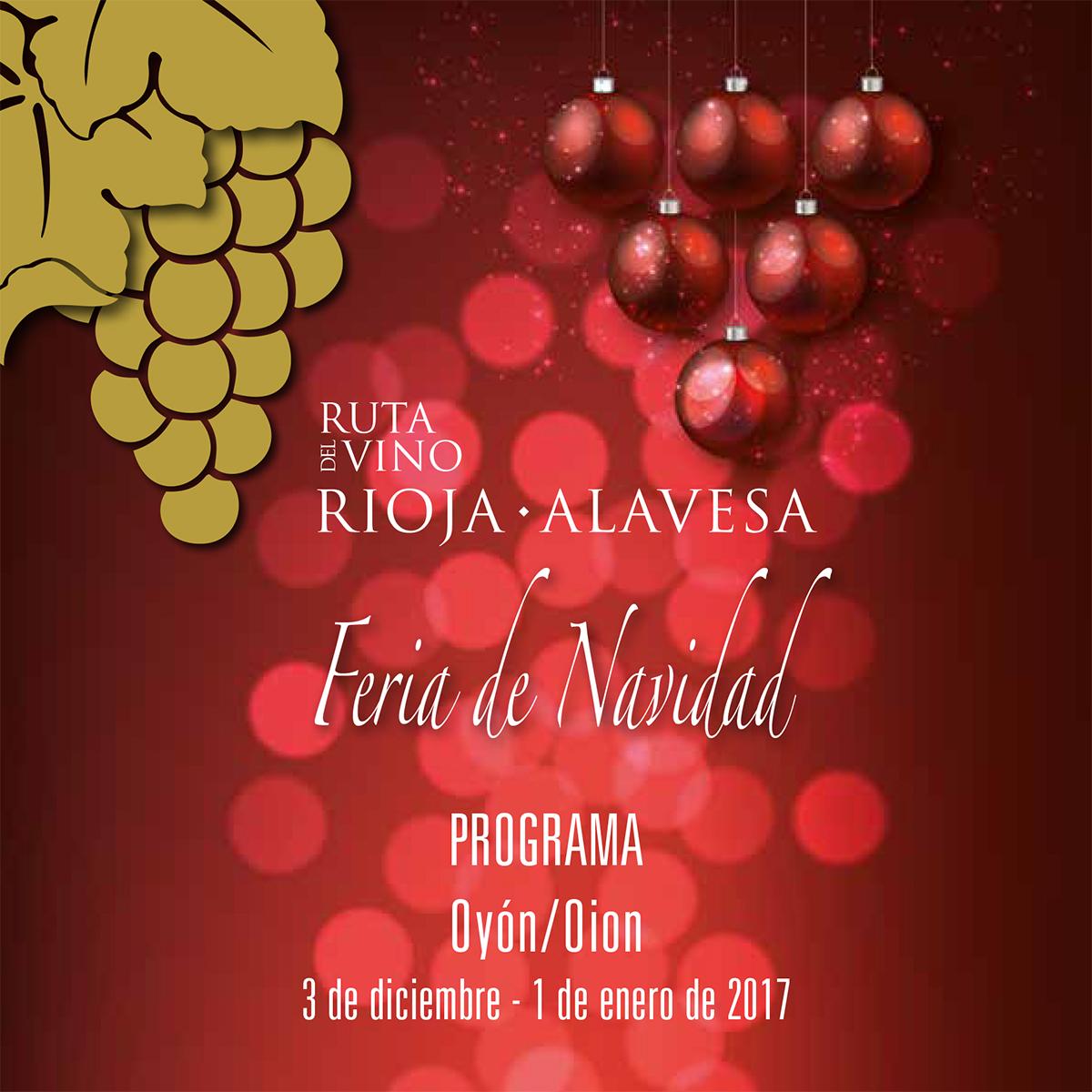 Bodegas Ondalán. Feria de Navidad Ruta del Vino de Rioja Alavesa en Oyón-Oion 2016
