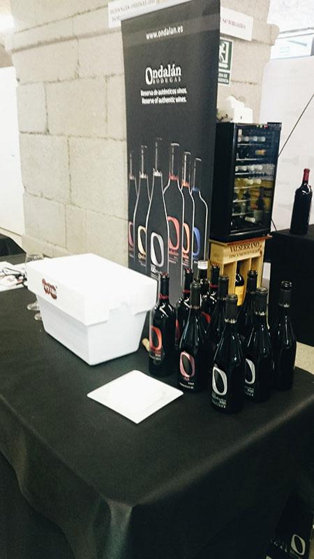 Bodegas Ondalán en Fevino 2017, Ferrol