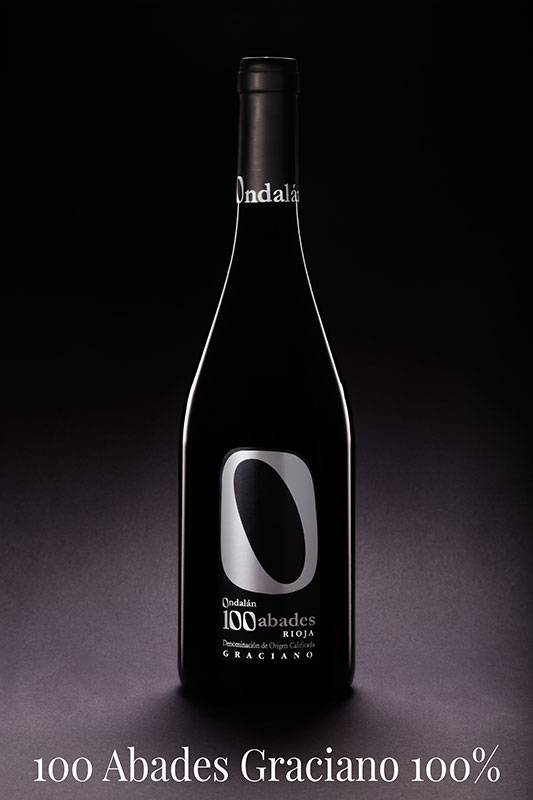 Bodegas Ondalán 100 Abades Selección Graciano 100% Vino D.O.Ca. Rioja